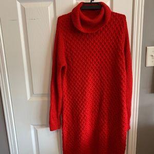 2/20$ Apt. 9 RED Sweater Dress 🤩